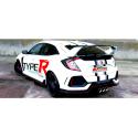 Escape trasero inoxidable grupo-a Honda Civic TYPE R (FK8) 320CV 2017 - Hoy