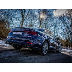 Línea de escape Sport Inox Audi A5 B9 (F5/B8) Sportback 40 TFSI (190cv/140kw) 10/2018 - 06/2020