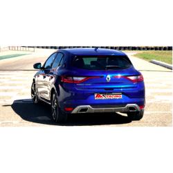 Silencioso trasero Groupe A Renault Megane 4 GT 1.6 TCE 205 Cv 2015 - Hoy