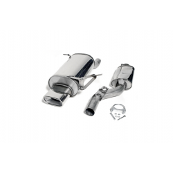 Línea de Escape Cat-Back Acero INOX BMW Z3 (E36) 1.9i 16V 140cv 1996 - 2002 Ta Technix