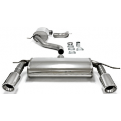 Línea de escape Duplex TA-Technix INOX Volkswagen Golf V MK5 (Typ 1K) 2.0 TFSi 200cv 2003 - 2008