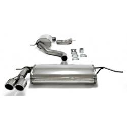 Línea de escape con salida 2x80mm TA-Technix INOX Audi A3 (Typ 8P) 1.4 TFSi 125cv 2003 - 2012